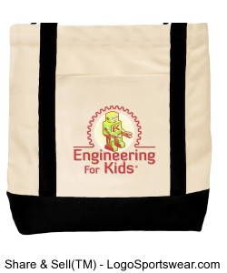 Engineering For Kids Tote Bag Design Zoom